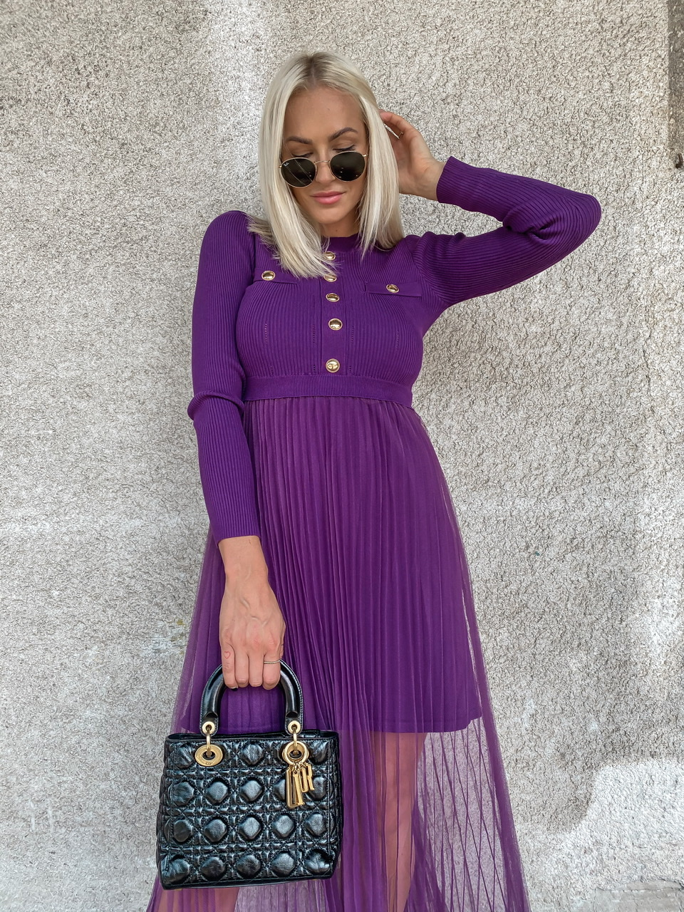 Šaty Jazmin Purple