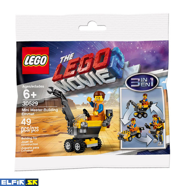 LEGO MOVIE Mini Master-Building Emmet - polybag 30529