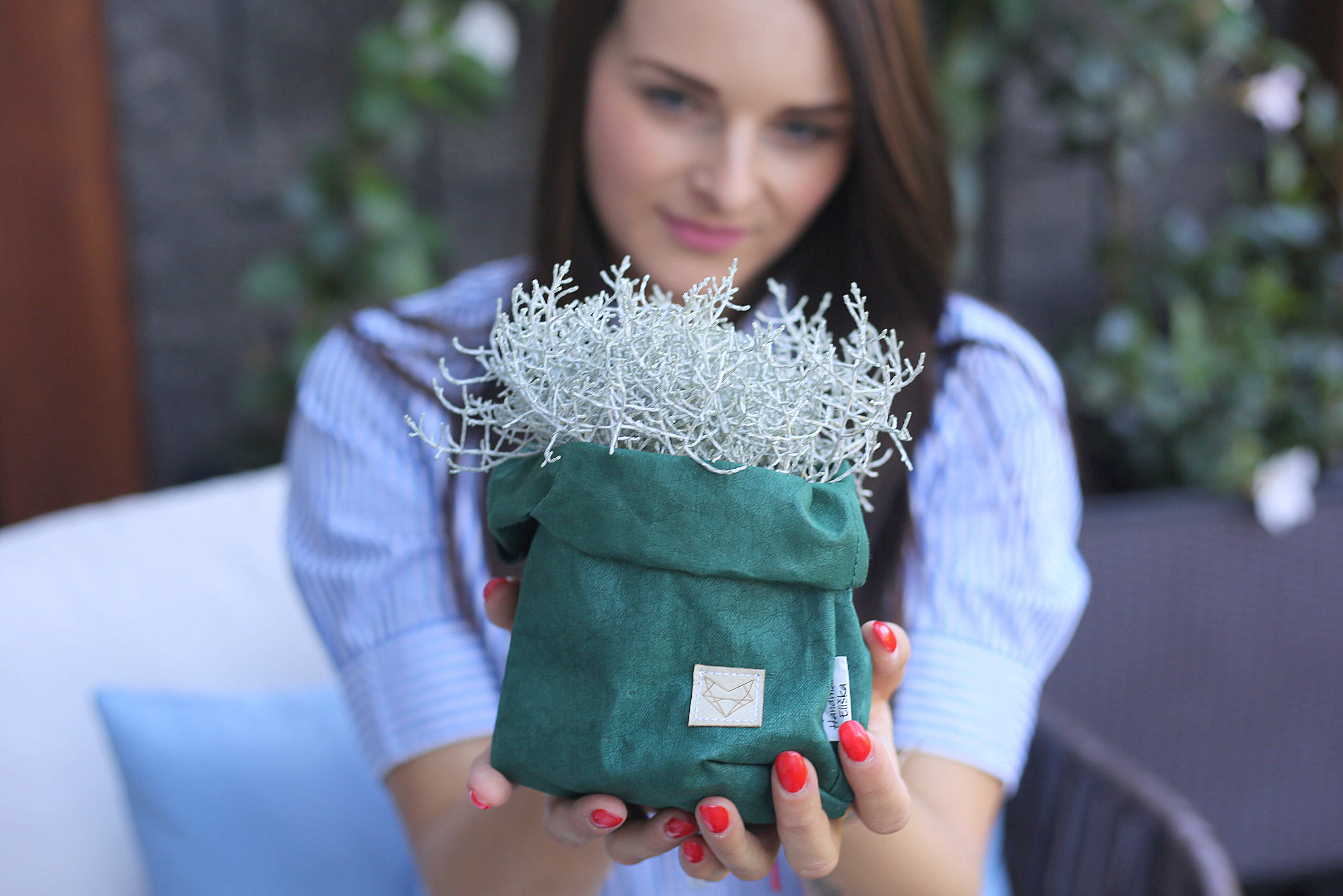 Small home bag Green