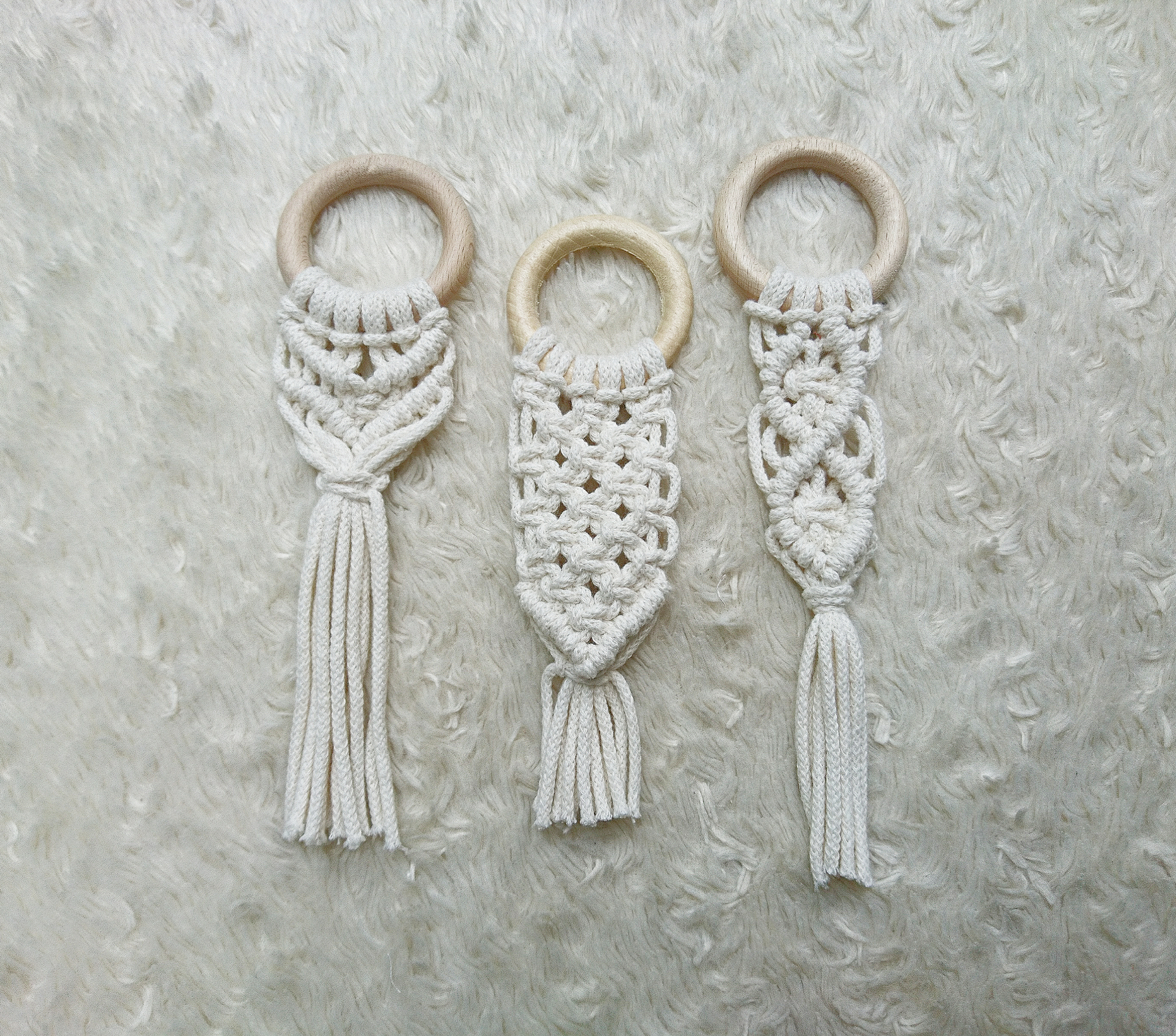 MACRAME TEETHER/ BABYROOM DECOR