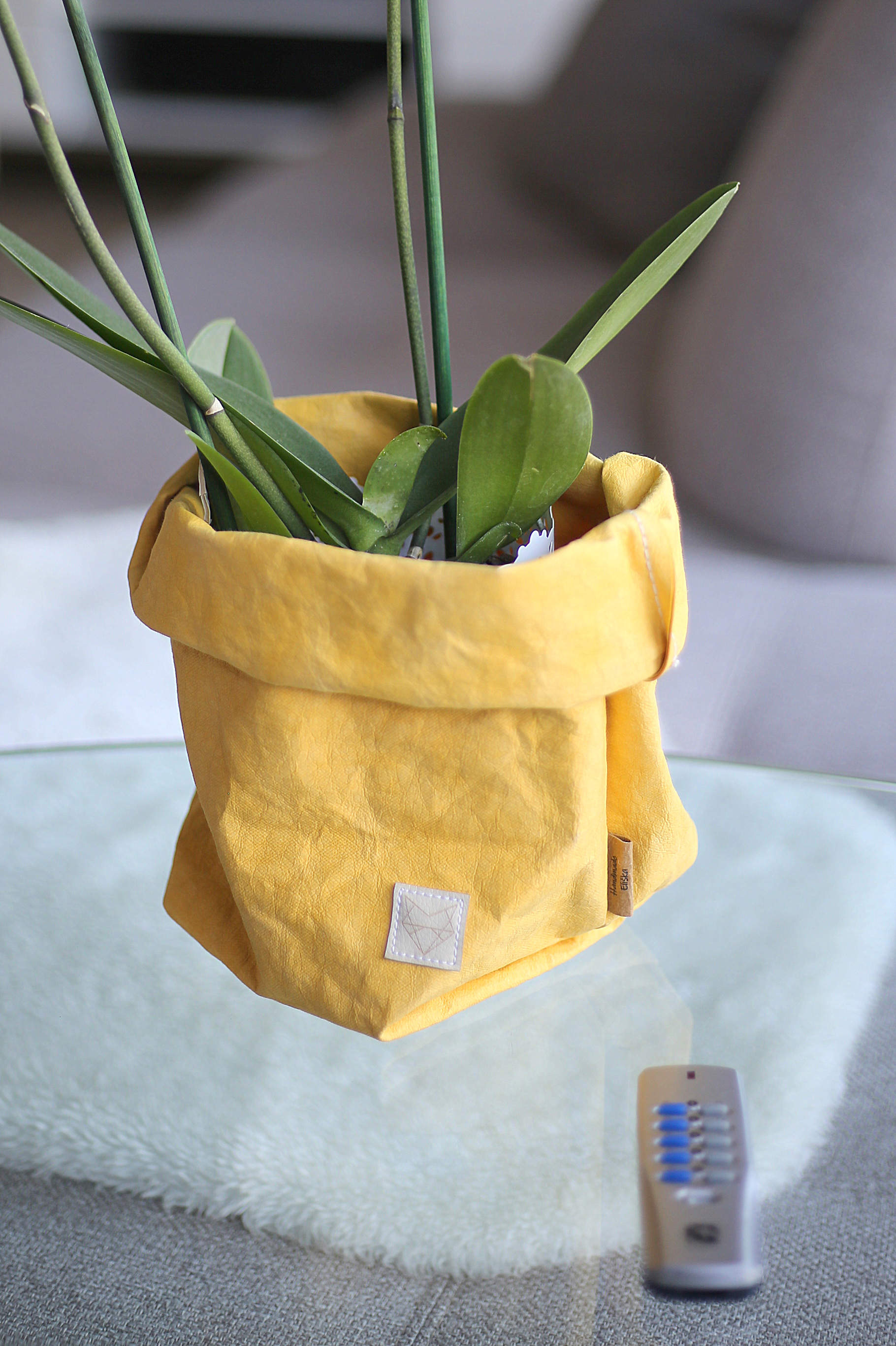 Big home bag Yellow
