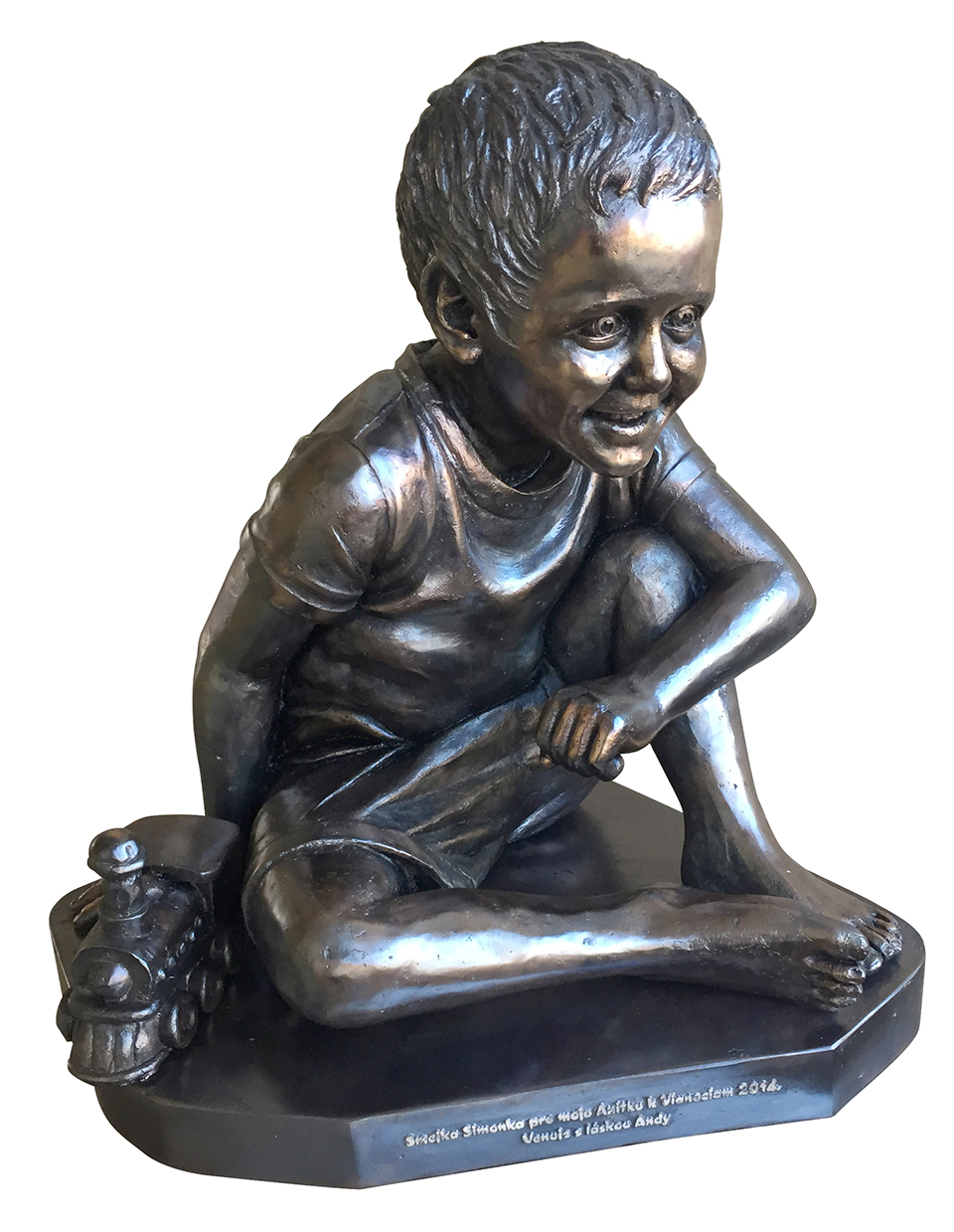 technique: bronze: life size year: 2014